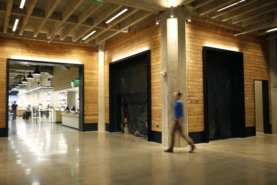 A pop up area (back center and right)  off the Twitter lobby will soon have a new tenant at The Market on Market on Friday, January 22, 2016 in San Francisco, Calif. Photo: Lea Suzuki, The Chronicle