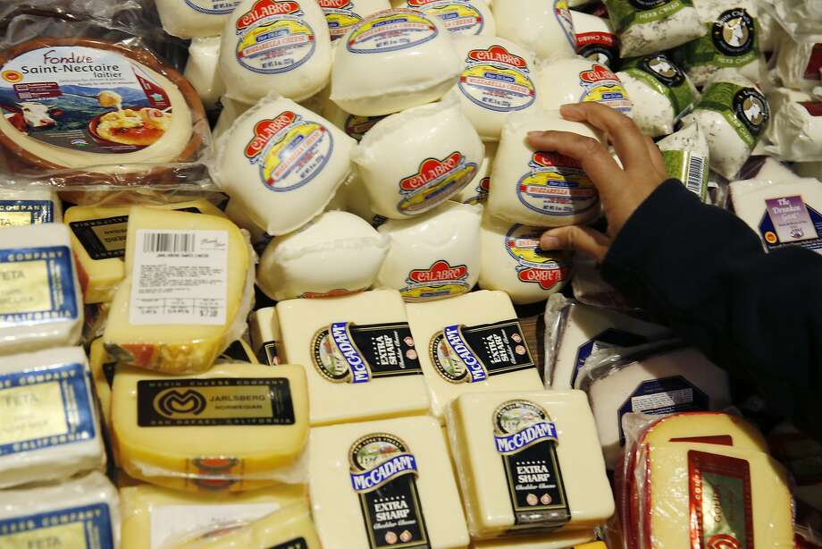 A customer makes a cheese selection at The Market on Market on Friday, January 22, 2016 in San Francisco, Calif. Photo: Lea Suzuki, The Chronicle