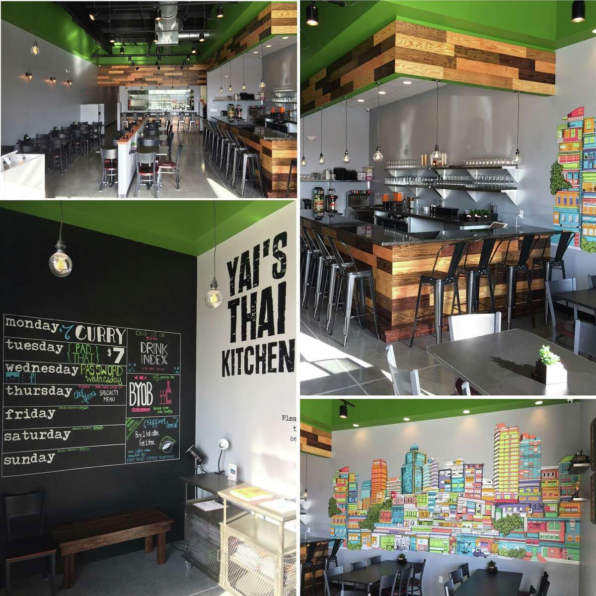 Yai's Thai Kitchen Where: 7035 West Grand Parkway Latest: A family-owned Thai restaurant that debuted in Richmond this month. Interested? Learn more here