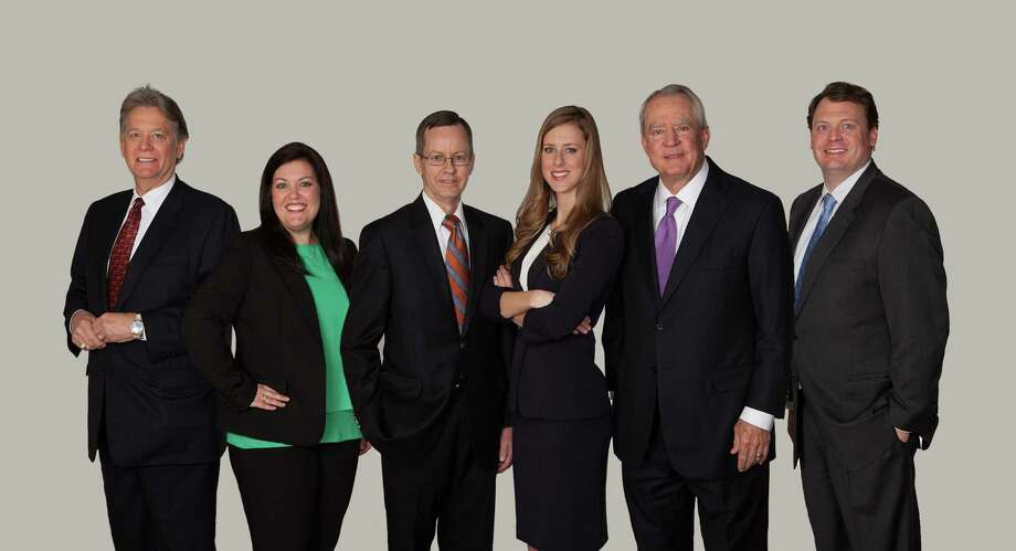 Allegiance Title Co. has opened an office in Houston. The team consists of, from the left: Chuck Townsend, Alicia Hicks, David Ratchford, Katie Guillory, Vic Condrey, and Hap Peyton.