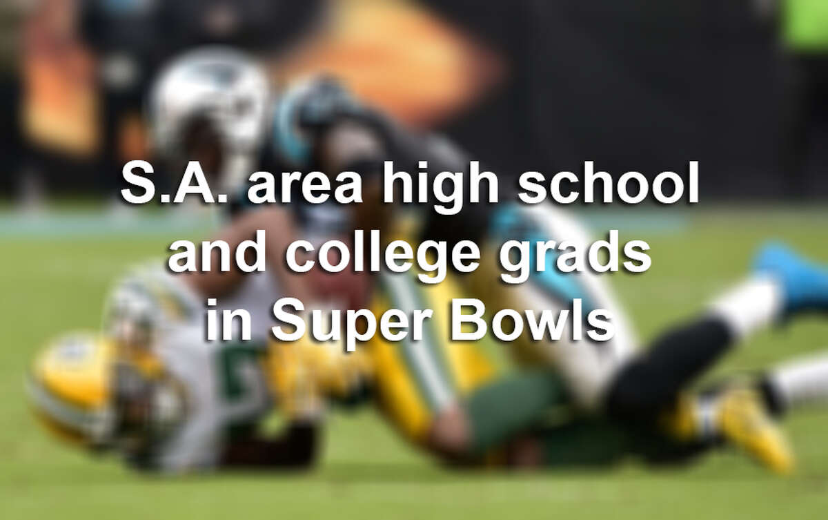 As the world gets ready for the Denver Broncos to face the Carolina Panthers in Super Bowl 50 on Sunday, Feb. 7, 2016, we look back at area high school and college grads who played for pro football's grand prize.
