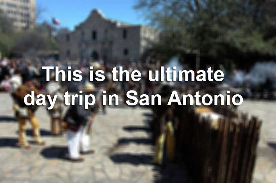 Let's say you only had one day to spend in the Alamo City. Here's how to pack some of the best the city has to offer into that 24 hour span. / San Antonio Express-News