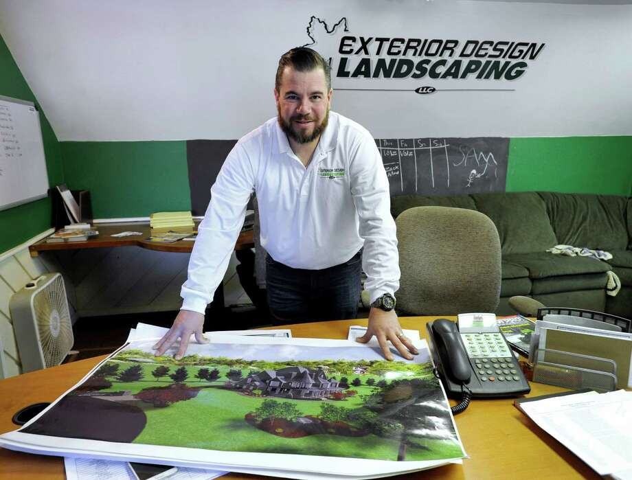 peter amaral is the owner of exterior design landscaping in danbury photo monday january