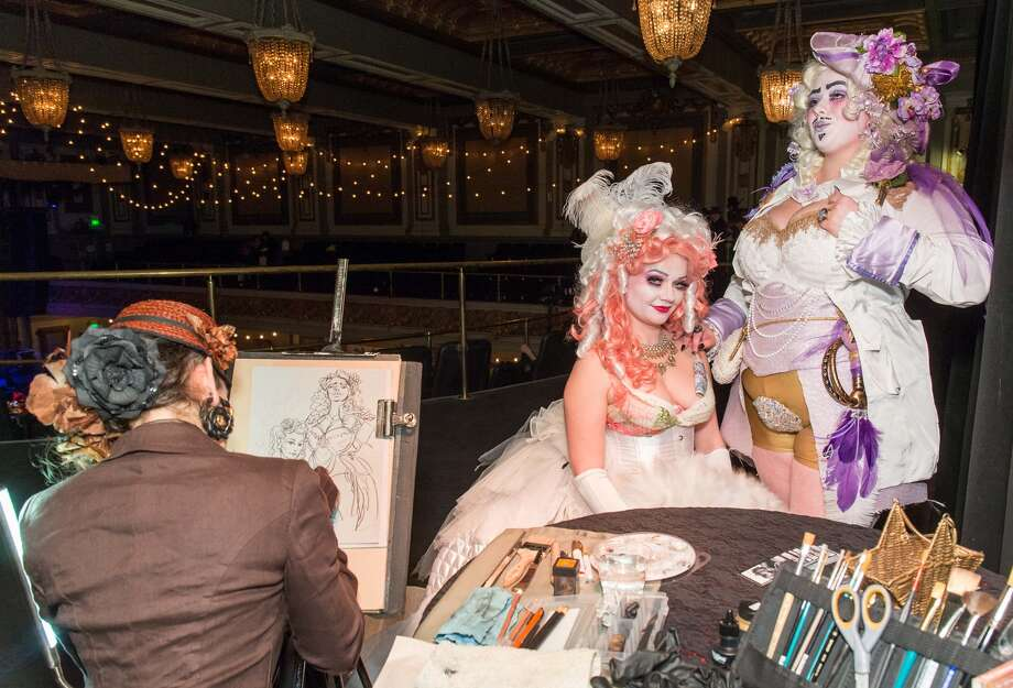 The 2016 Edwardian Ball took place at the Regency Ballroom on Jan. 22 and 23, featuring games, live entertainment and ballroom dancing. Photo: Drew Altizer Photography