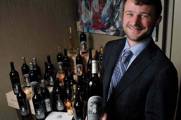 Matt Duncan of Silver Oak Winery hosted a recent dinner at Vallone's restaurant.