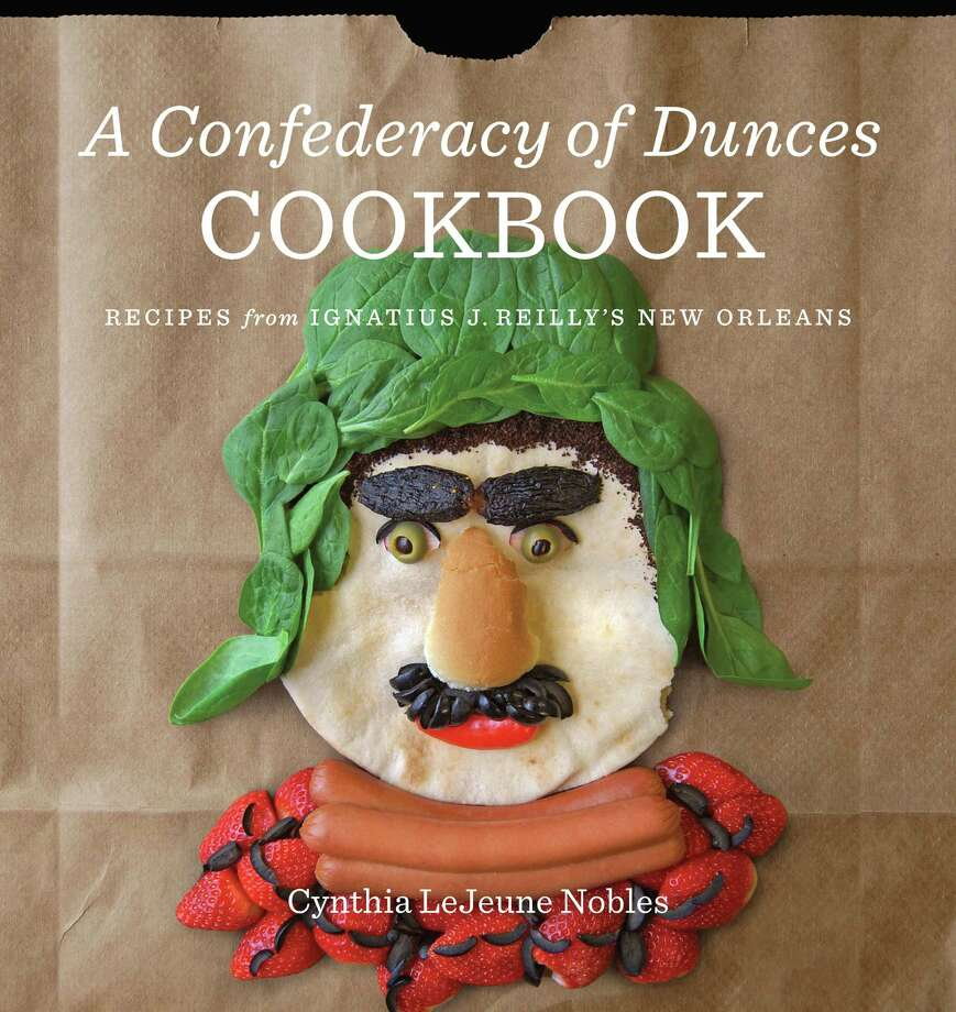 """Cover: """"A Confederacy of Dunces Cookbook"""" by Cynthia Lejeune Nobles (Louisiana State University Press, $35). Photo: LSU Press"""