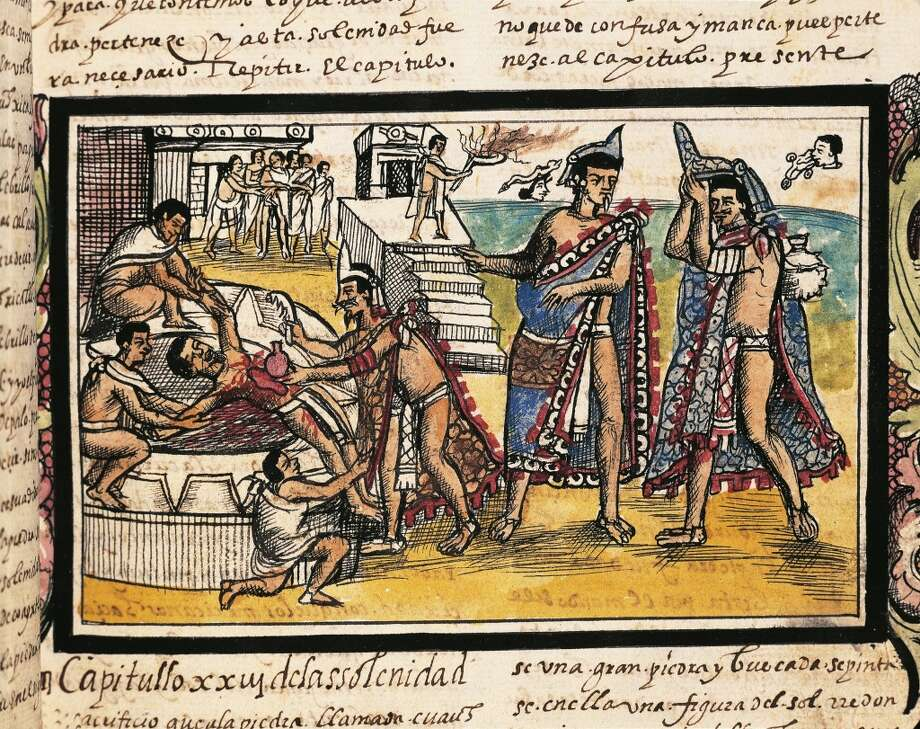 A new study challenges original research about human sacrifice in Aztec culture. 