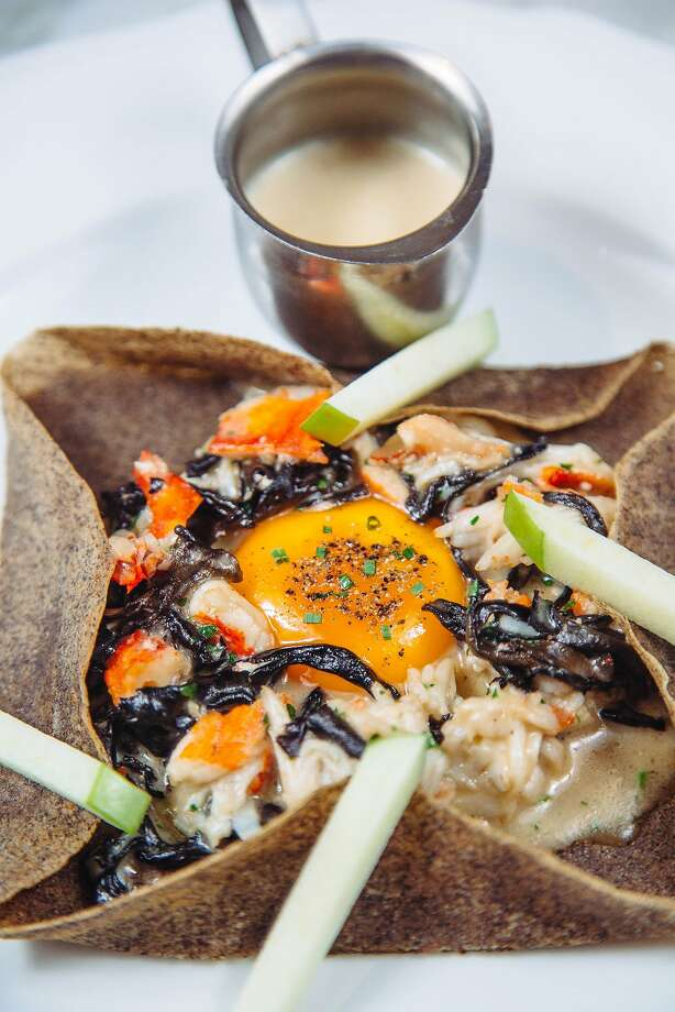 LAS VEGAS, NV - JANUARY 16: The King Crab Crepe at Bardot Brasserie in the Aria casino in Las Vegas, Nevada on Saturday, January 16, 2016. (Photo by Brinson+Banks) Photo: Kendrick Brinson, Special To The Chronicle