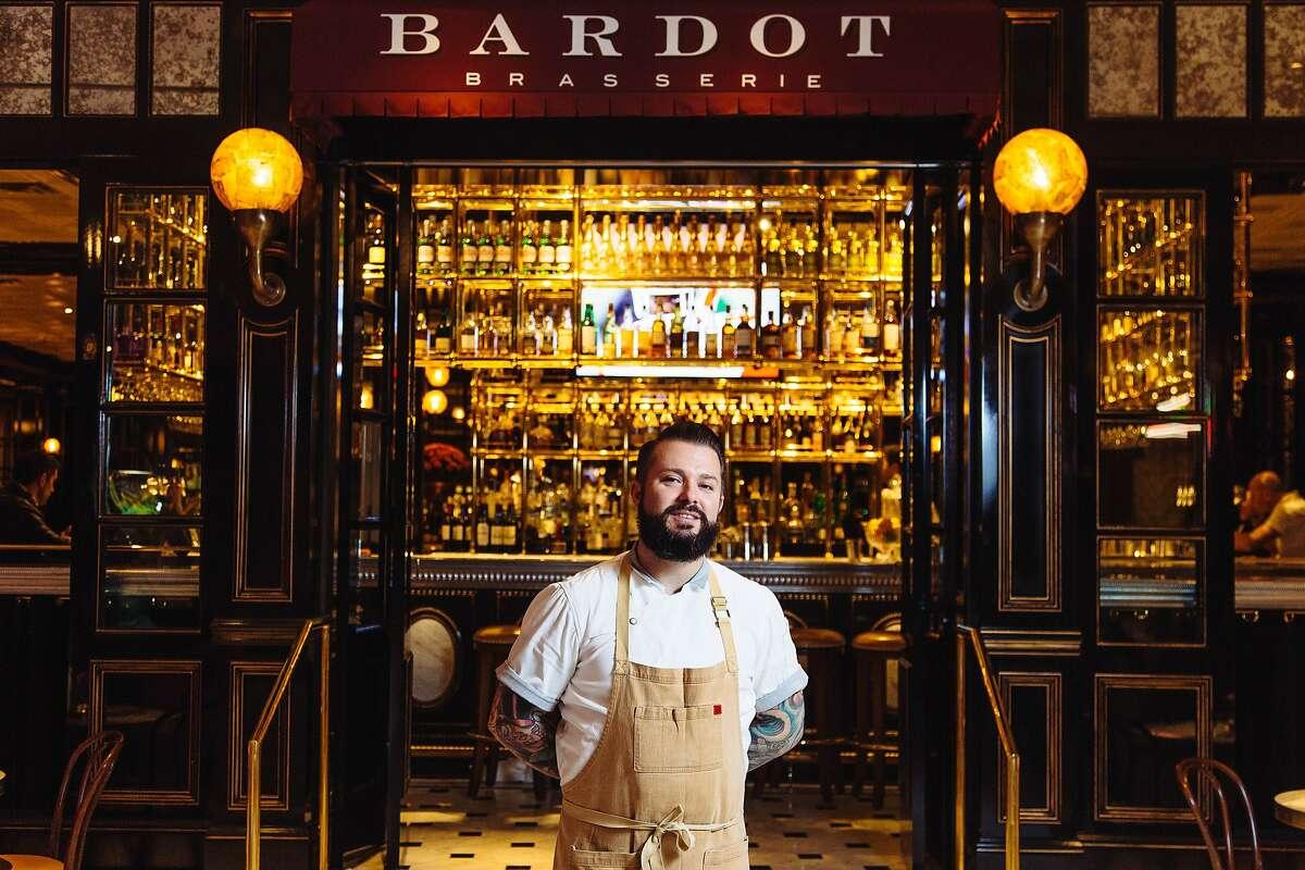 Chef Joshua Smith runs Bardot, Michael Mina's brasserie in the Aria casino in Las Vegas.
