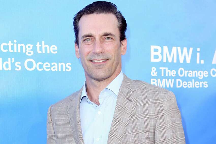 Actor Jon Hamm Supporting: California Senator Kamala Harris Photo Credits: Splash