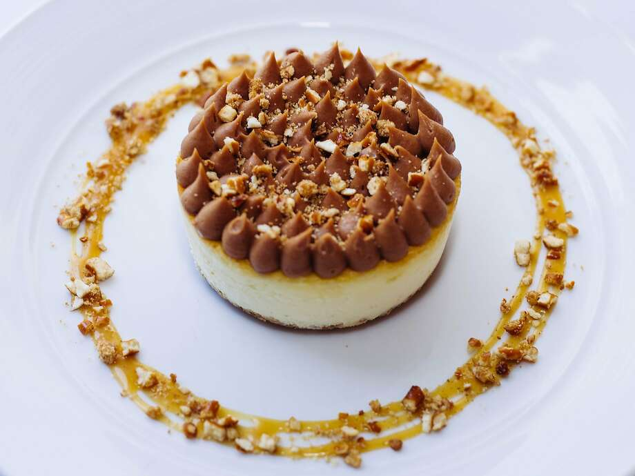 Peanut butter pretzel cheesecake at Andiron. Photo: Brinson+Banks, Special To The Chronicle
