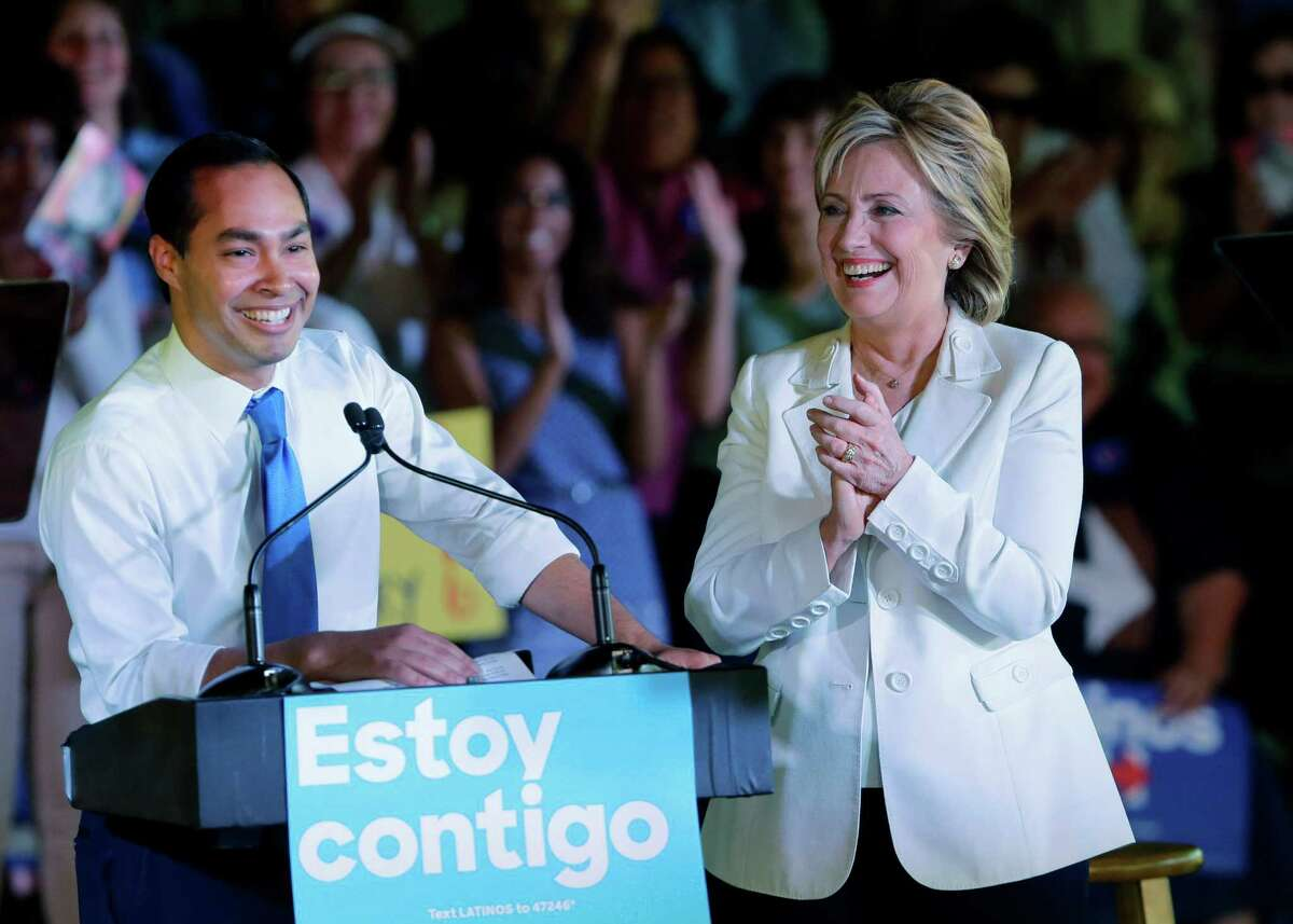 Though Clinton visited San Antonio in October along with Housing and Urban Development Secretary Julian Castro, her campaign did not have a paid staffer in the state until last week.