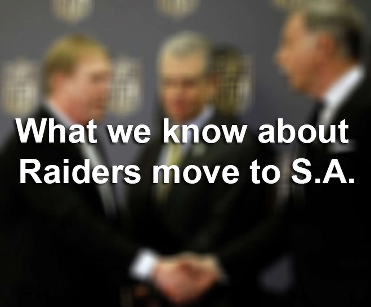 What we know about a potential Raiders-to-San Antonio move