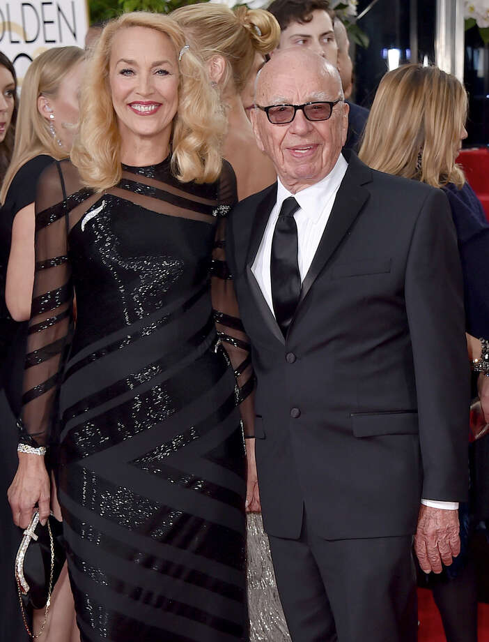 Jerry Hall reportedly got a huge engagement ring from Rupert Murdoch. Keep clicking to see celeb wedding rings. Photo: Jordan Strauss, Associated Press / Invision