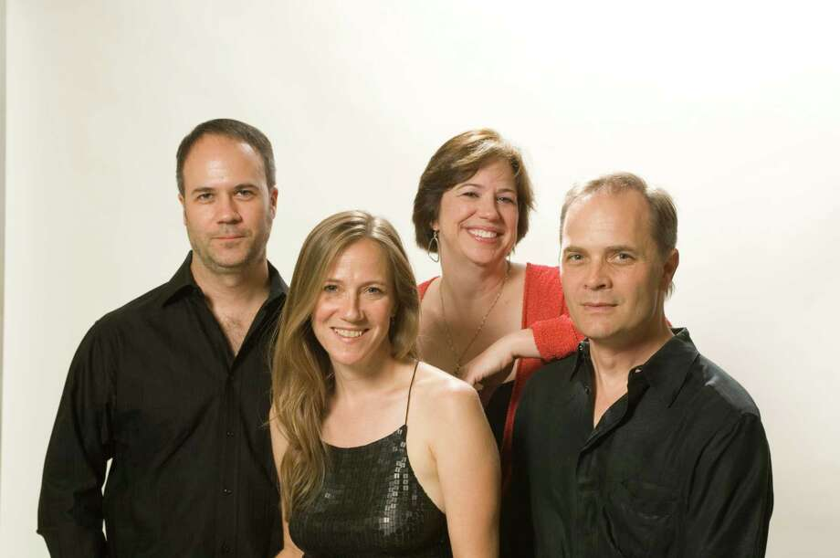 Members of the SOLI Chamber Ensemble are (from left) Ertan Torgul, Stephanie Key, Carolyn E. True and David Mollenauer. Photo: COURTESY PHOTO