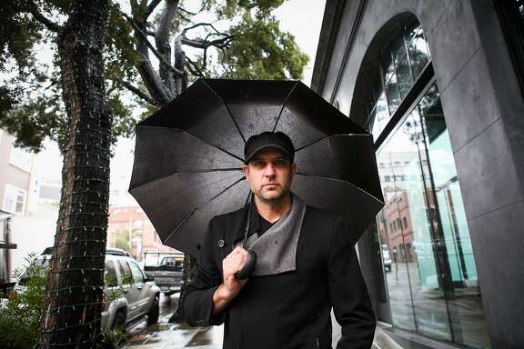 Justin Dillon, founder of Made in a Free World walks to a coffee shop near his office, in San Francisco, California on Friday, January 22, 2016.