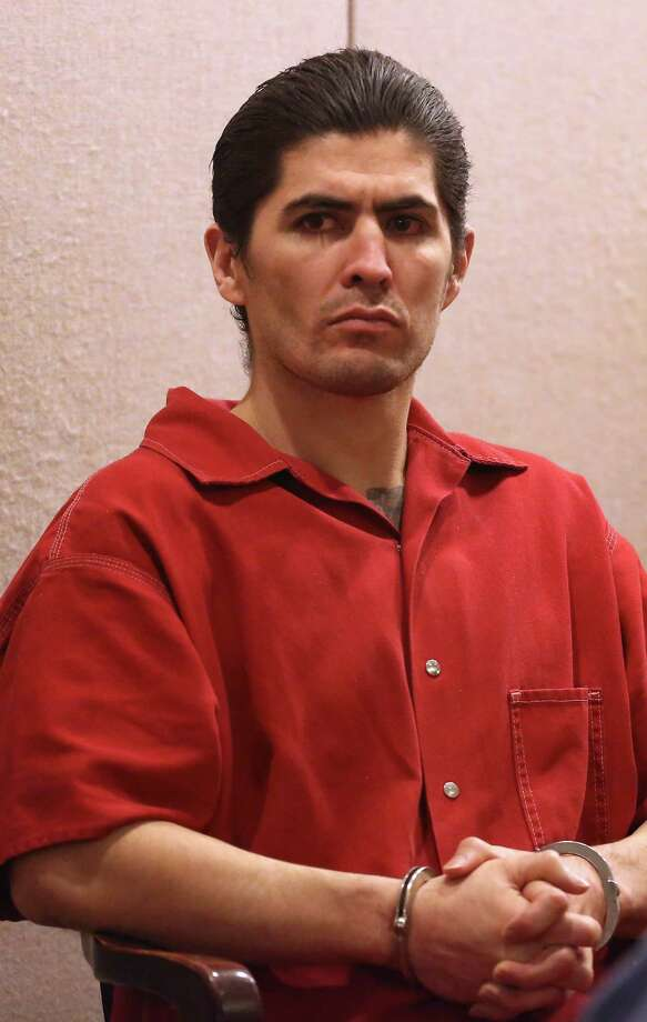 Christian Ivan Bautista, who has been charged with murder for the New Year's Eve slaying of Lauren Bump as she was jogging through O.P. Schnabel Park, appears in court Tuesday July 29, 2014 for a pre-trial appearance. Photo: Helen L. Montoya, Staff / San Antonio Express-News / ©2014 San Antonio Express-News