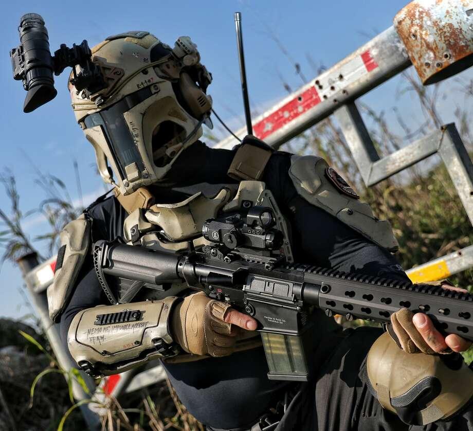 AR500 has created a practical version of Boba Fett's armor. Photo: AR500