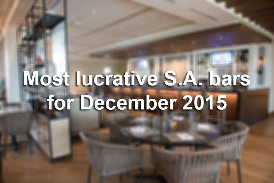 Prominent hotels, bars and restaurants were among the businesses with the highest total drink sales in December. Click through the slideshow to view the top 20 list for Bexar County.