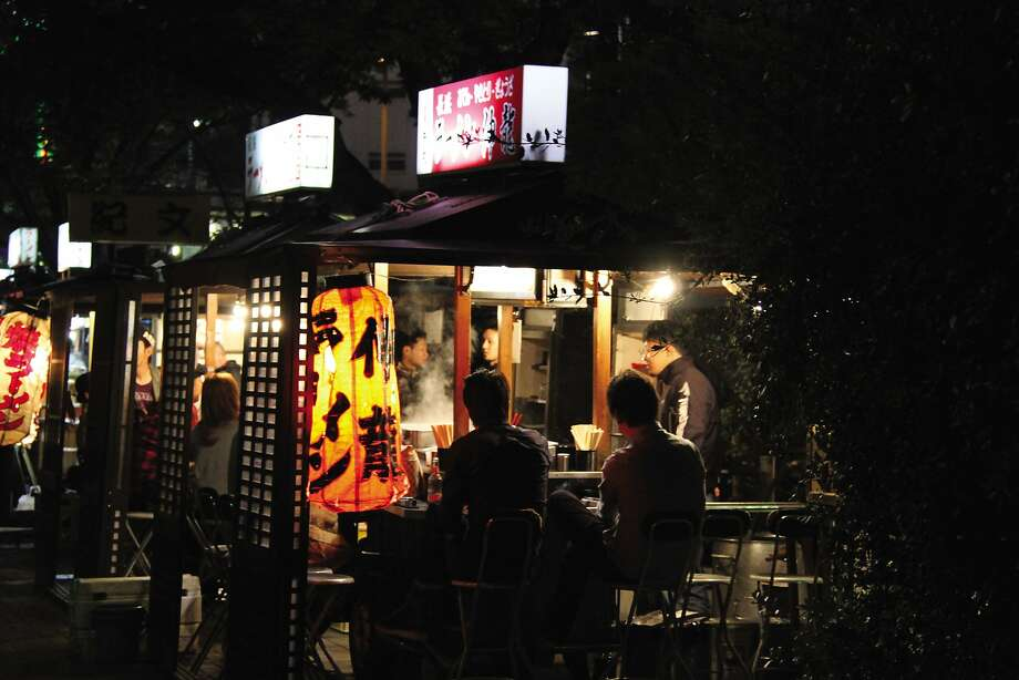 Fukuoka is the last bastion of Japan's yatai culture — a robust world of street food stalls that recalls a day when much of Japan's best food came from wooden stands. Photo: Harper Wave