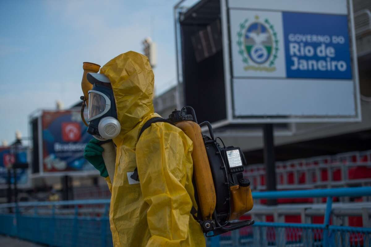Travelers are advised to avoid travel, which could hurt Brazil economically, since they are hosting the upcoming Olympics.