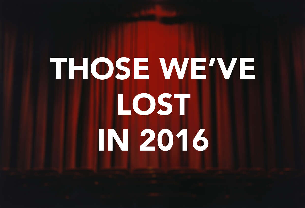 Click through the images to see more people we have lost in 2016