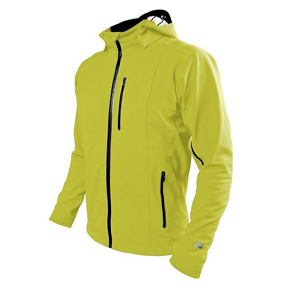 Designed for extreme wet conditions, Mission Workshop's Orion Ultralight Waterproof Jacket is made with 96 g/m2 Polartec NeoShell fabric and is engineered to react to changes in body temperature. Photo: Courtesy Of Mission Workshop