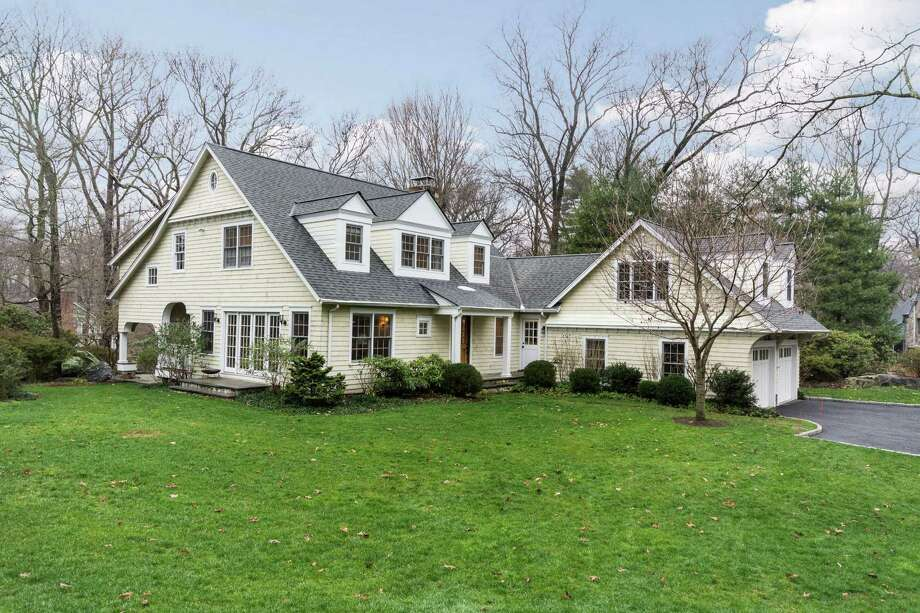 This Tokeneke home in Darien offers 3,470 square feet of living space. Photo: Contributed / Contributed Photo / Darien News