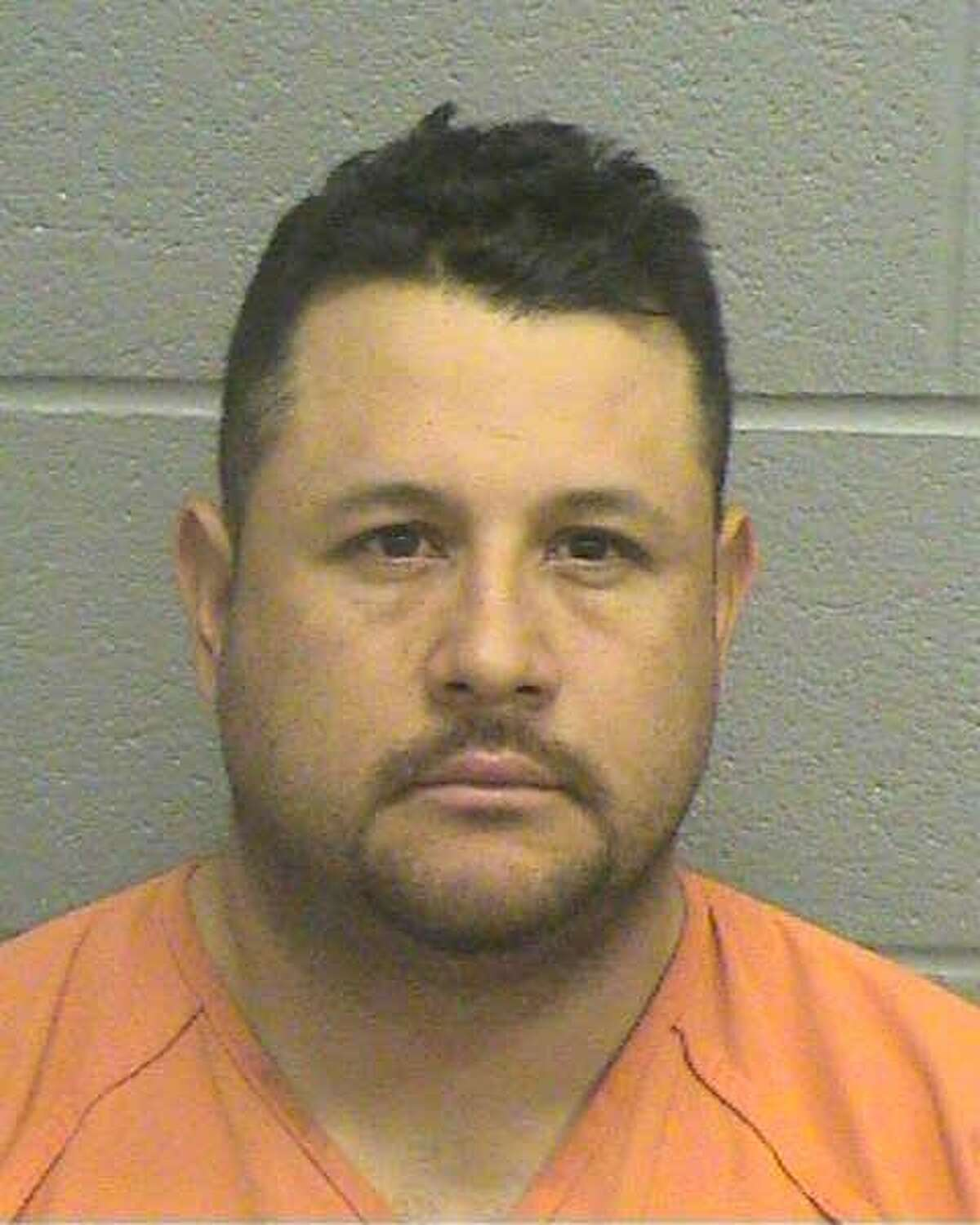 Jose Reyes Baeza has been arrested by the Midland County Sheriff's Office as part of an alleged Texas cockfighting ring. (Source: Midland County Sheriff's Office)