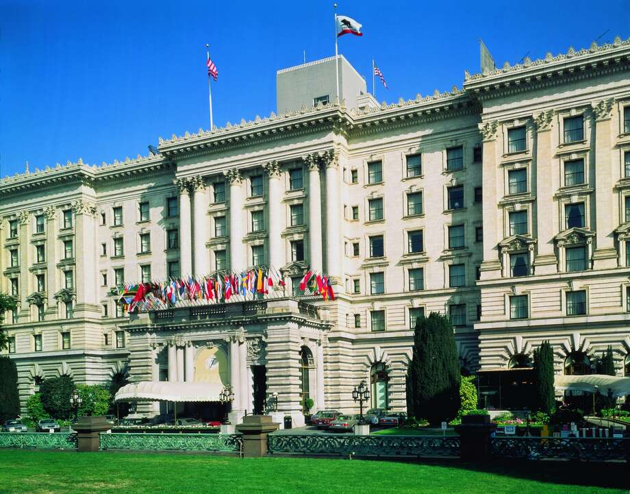 "The Fairmont San Francisco has been a Nob Hill staple since 1907 and is featured in iconic films such as Alfred Hitchcock's ""Vertigo."" Photo: Courtesy Of Fairmont San Francisco"