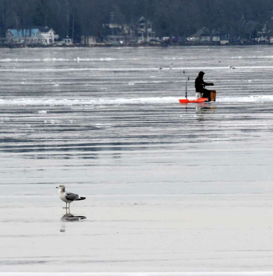 Warmer wednesday with a breeze times union for Saratoga lake fishing