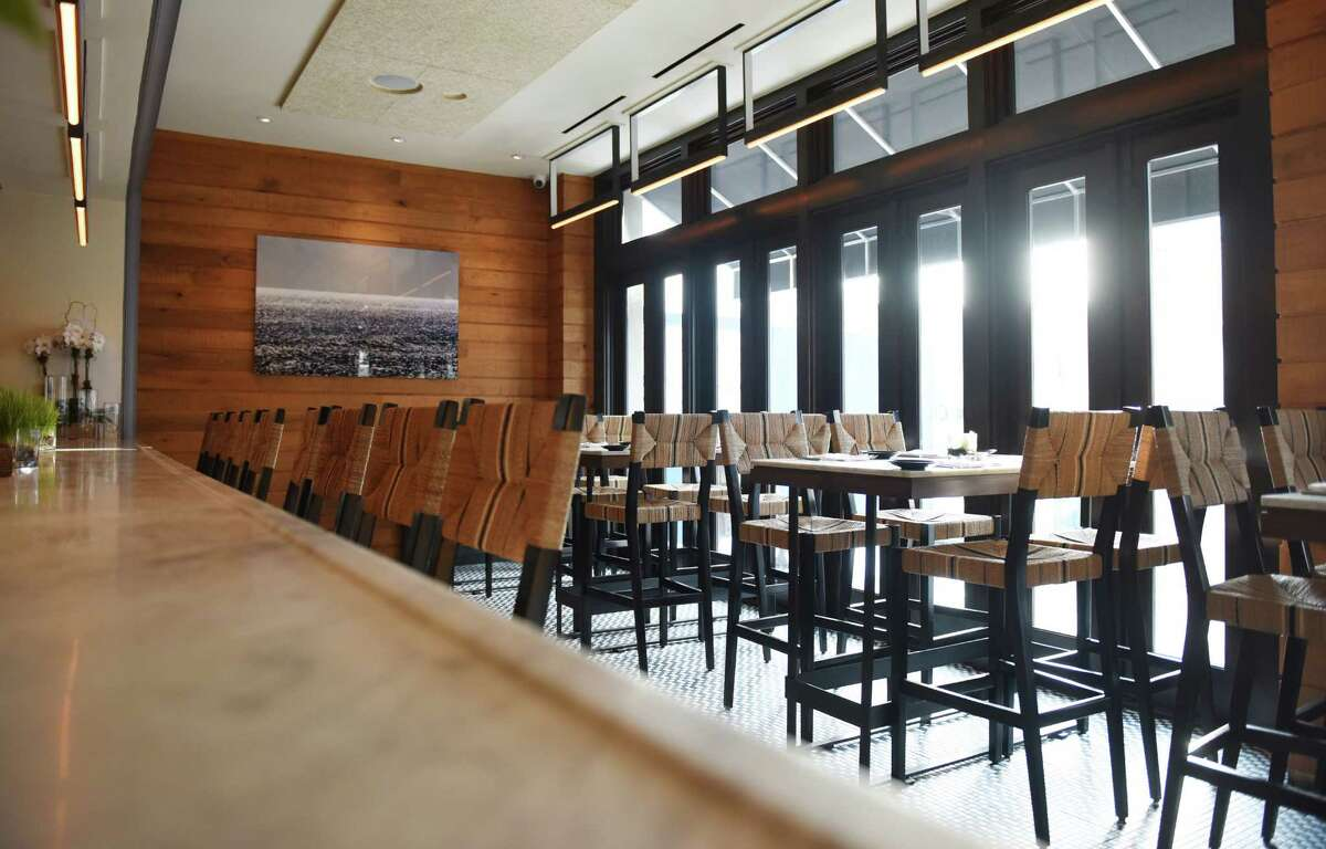 The bar and high-top table dining area at the new Eastend Restaurant along Greenwich Avenue in Greenwich, Conn. Tuesday, Jan. 26, 2016. Eastend, from the owners of Mediterraneo and Terra, serves American fare in small-batch offerings with a menu that changes with the season's harvest.