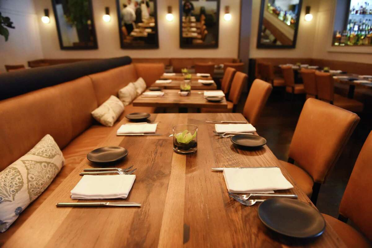 The main dining room at the new Eastend Restaurant along Greenwich Avenue in Greenwich, Conn. Tuesday, Jan. 26, 2016. Eastend, from the owners of Mediterraneo and Terra, serves American fare in small-batch offerings with a menu that changes with the season's harvest.