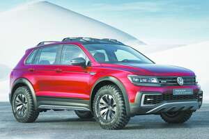 Volkswagen will add a third-row option to its compact Tiguan crossover for 2017 - Photo