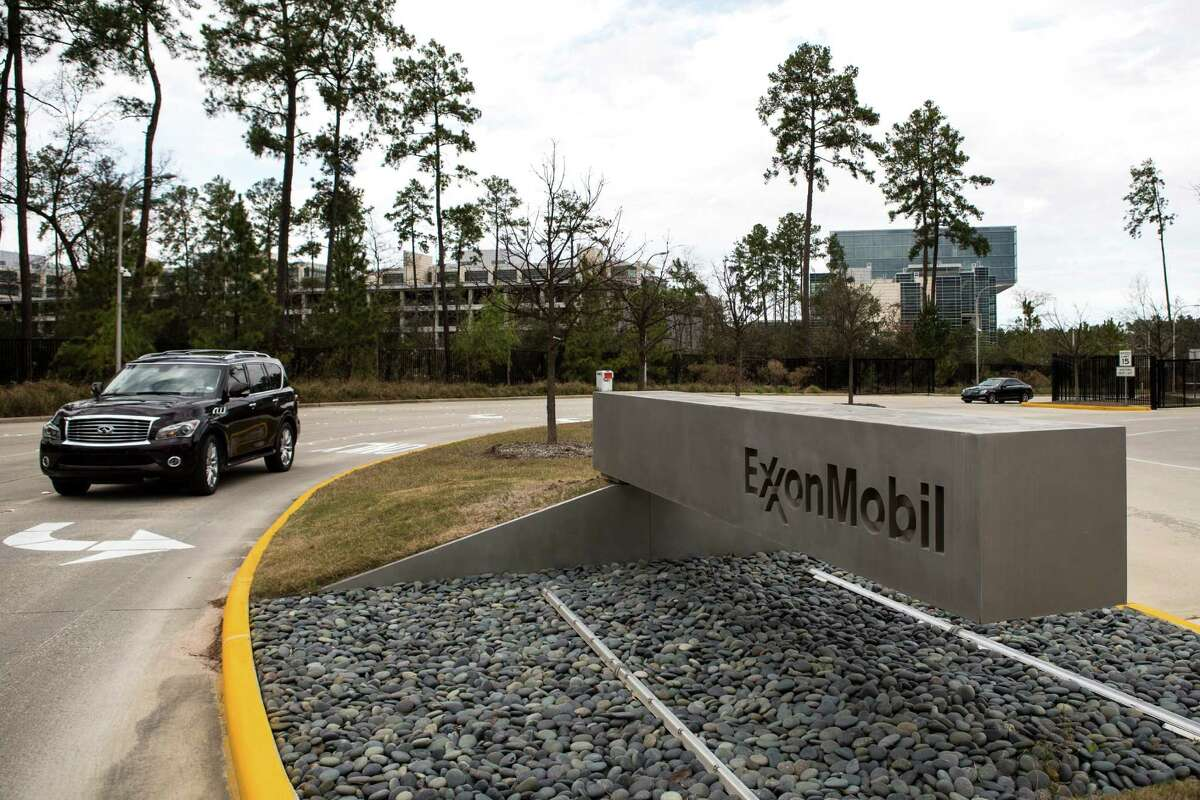 Exxon Mobil is disputing a $1.04 billion property appraisal for its 242-acre Spring campus, which has 14 office buildings and its own utility plant.