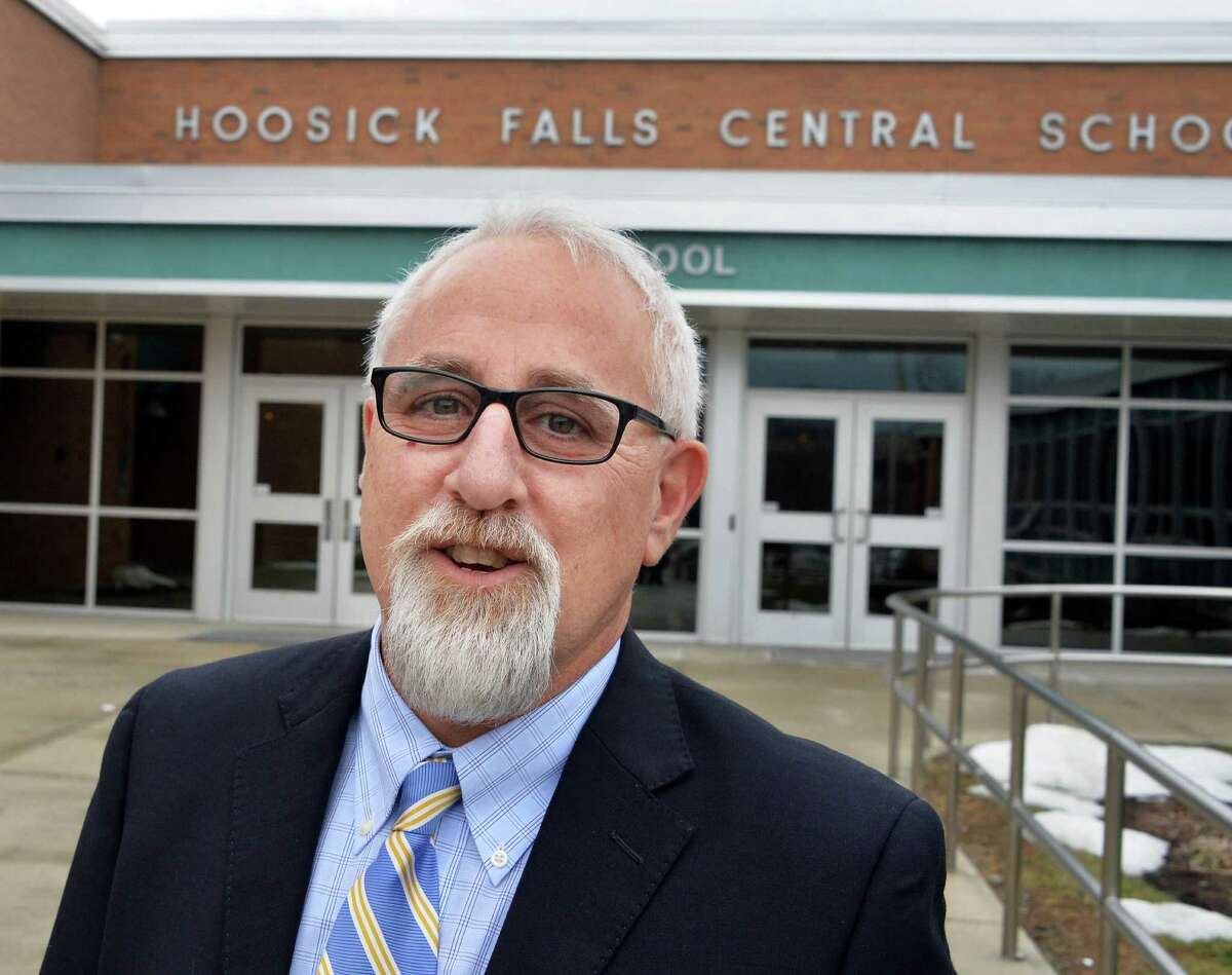 Kenneth Facin, superintendent at Hoosick Falls Central Schools, said he had difficulty getting well-test results from the state Health Department. (John Carl D'Annibale / Times Union)