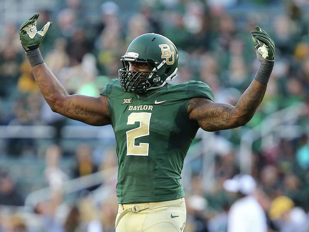 Defensive end Shawn Oakman is the latest Baylor player to be arrested for sexual assault. Click through the gallery to see the college football programs with the most player arrests from 2010-15.
