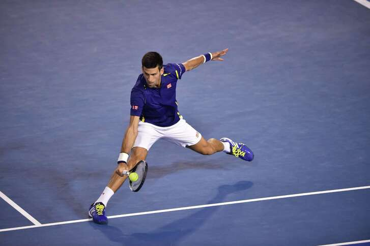 Novak Djokovic was sharp in beating Kei Nishikori and setting up a semifinal showdown with Roger Federer.