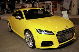 The new Audi TTS at the Houston Auto Show Preview Party at NRG Center Tuesday Jan. 26, 2016.(Dave Rossman photo)