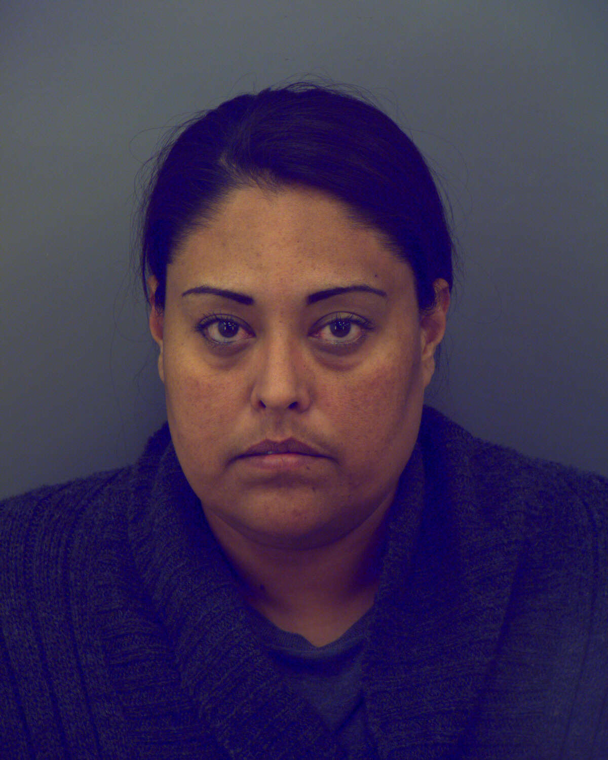 Sandra Silvas-Mendoza, 36, of Socorro was arrested by the Texas Department of Public Safety during an investigation targeting alleged members and associates of the Barrio Azteca gang and their alleged involvement with trafficking heroin and cocaine.
