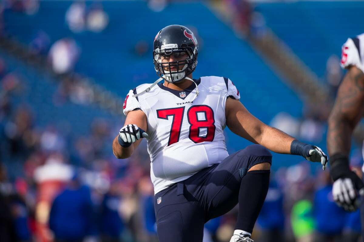 52. Oday Aboushi, offensive guard After being cut by the New York Jets, he came to the Texans and did a decent job of filling in at both guard positions. The openings were created because of injuries. He played for new line coach Mike Devlin with the Jets and knew the system.