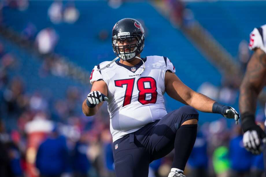 Oday Aboushi played for the Texans for the past two seasons, starting eight games and appearing in 11 games overall.