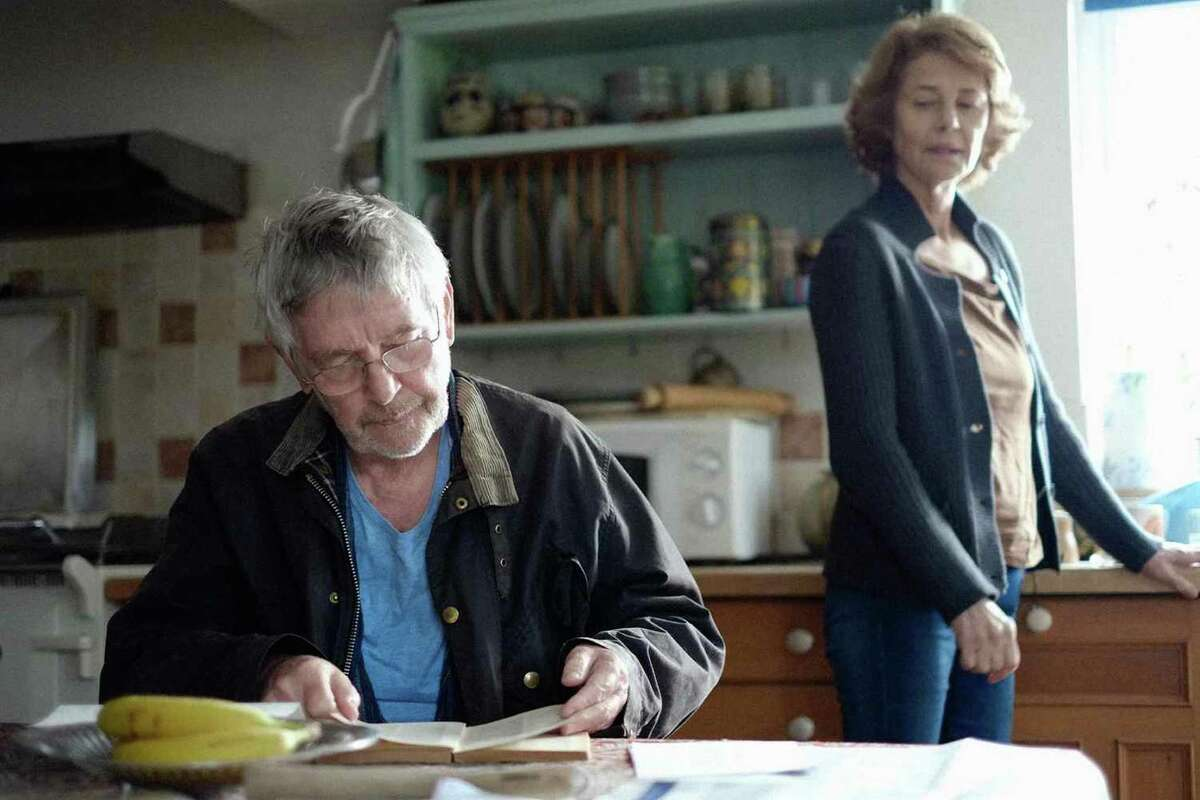 """Tom Courtenay (Geoff) and Charlotte Rampling (Kate) in Andrew Haigh's """"45 Years,"""" opening at Bay Area theaters on Friday, Jan. 29. Courtesy of Agatha A. Nitecka. 45 Years Films Ltd. A Sundance Selects Release."""