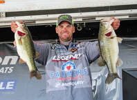 Todd Castledine wins the boater division by ounces at the Ram Open Series Kick-off photo by Patty Lenderman