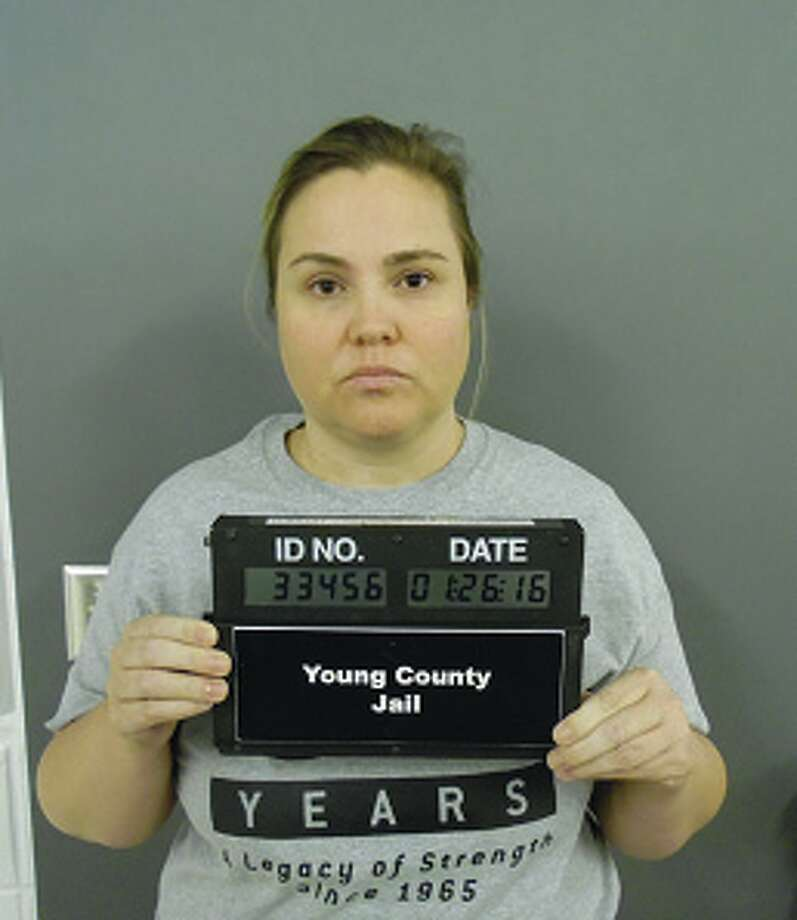 Graham police officers arrested Allison Amber Oliver, a 37-year-old instructional aide at Graham Junior High School, on Jan. 26, 2016 on felony charges of improper relationship between an educator and student and sexual assault of a child. Photo: Young County Jail
