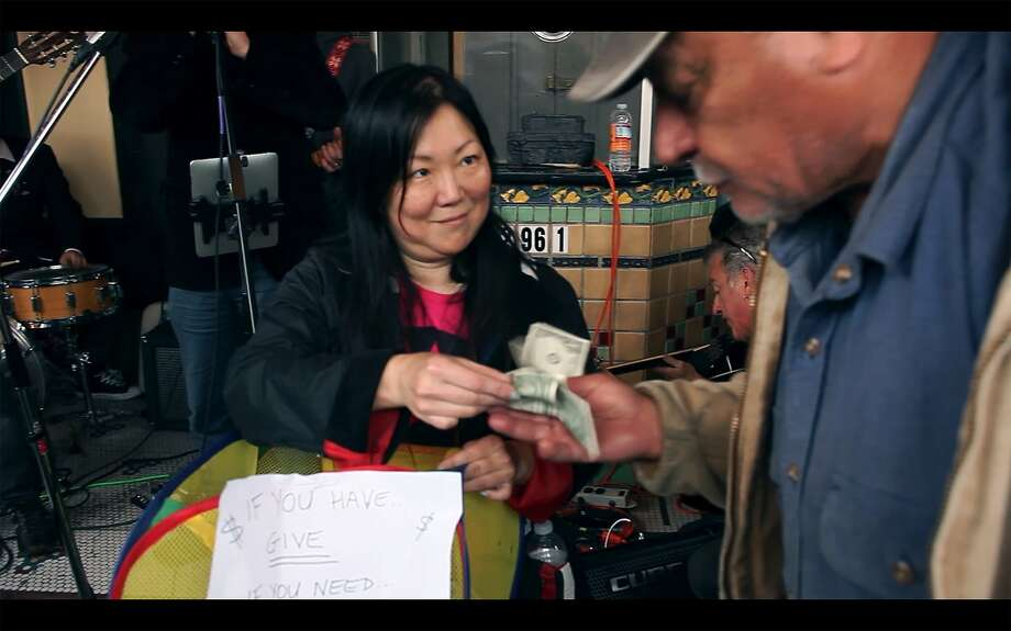 """Comic Margaret Cho, in an homage to her friend Robin Williams, reaches out to help San FranciscoÕs homeless in the documentary """"#BeRobin the Movie.""""  Credit: SF IndieFest Photo: SF IndieFest"""