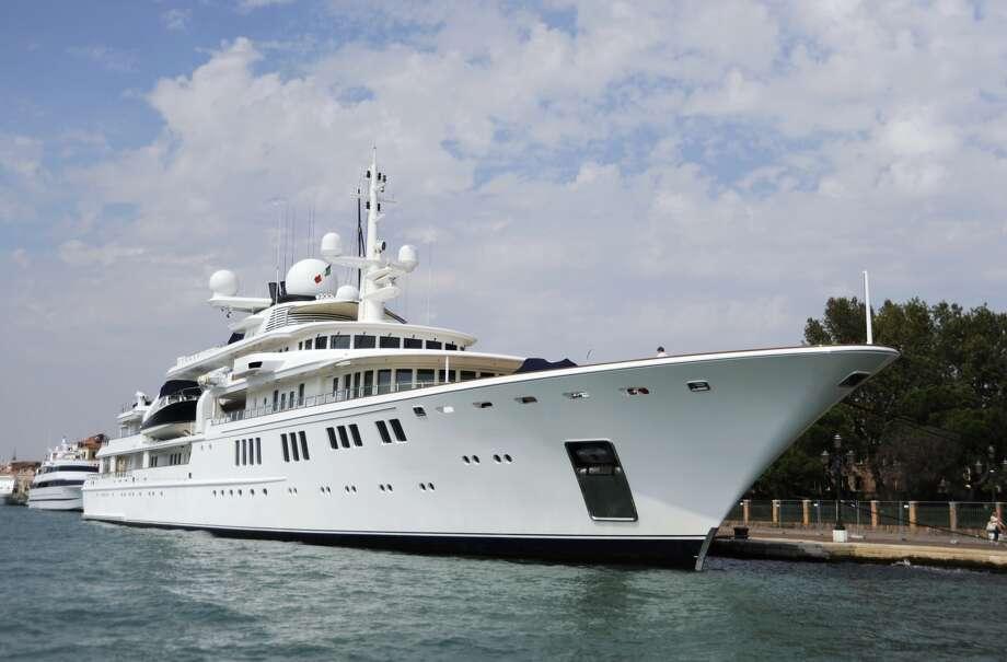 Yacht TATOOSH in Giardini, Italy (Photo by Manfred Segerer/ullstein bild via Getty Images)