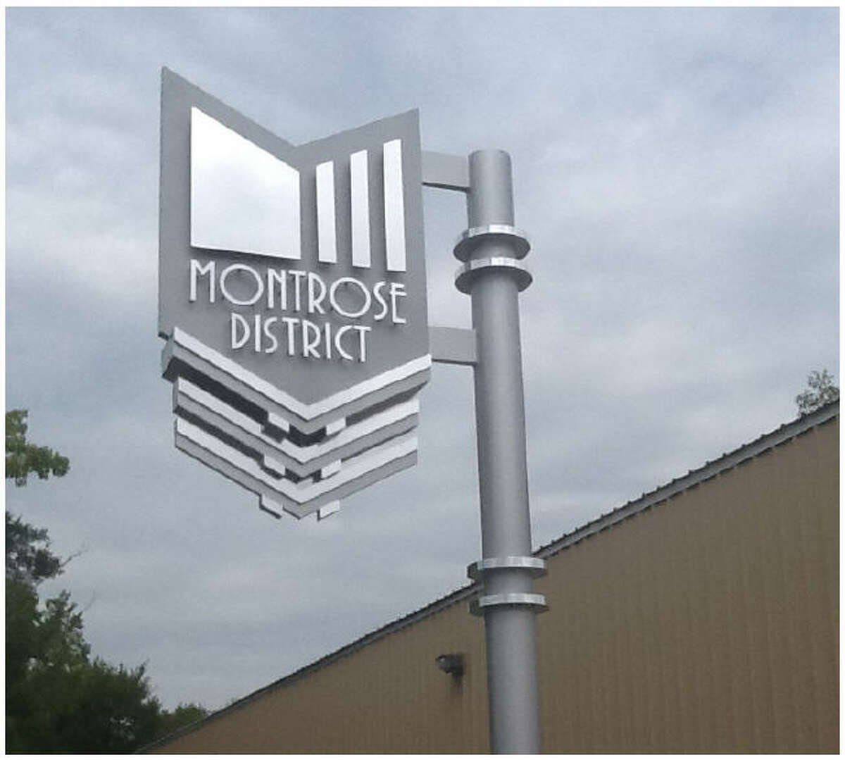 The district also installed signs and lighting throughout the neighborhood in the leadup to the Super Bowl in February.