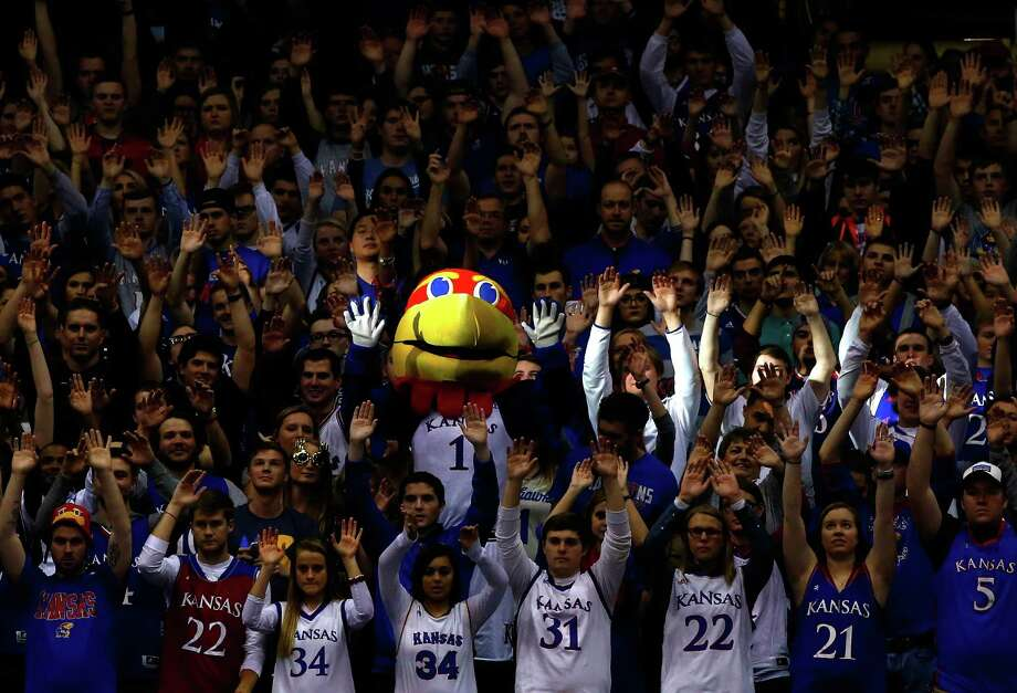 No. 10 KansasAmount raised: $28,934,681 Photo: Jamie Squire, Getty Images / 2016 Getty Images