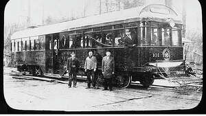 """In 1896, the old Seattle and Rainier Beach trolley line was extended to Renton. At that time, the 12-mile route between Seattle and Renton was the longest electric railway line in the world. The line, known after 1903 as the Seattle, Renton and Southern Railway, provided passenger and freight service to the once-isolated settlements between the two cities."" Pictured here is Seattle Renton & Southern streetcar #101, Seattle, ca. 1910. -MOHAI. Photo courtesy MOHAI, Lantern Slide Collection, image number 2002.3.1306."